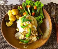 簡単朝食!あさり炒めのせご飯 - スタジオインターフェイス&カラーズイクス