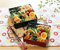 おばんざい弁当とバラ・パットオースチン♪ - ☆Happy time☆