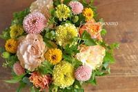 お見舞いに贈るフラワーアレンジメント。 - 花色~あなたの好きなお花屋さんになりたい~