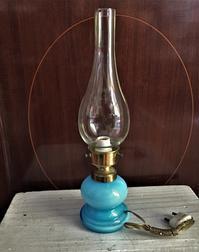 オイルランプの電気スタンド44 - スペイン・バルセロナ・アンティーク gyu's shop