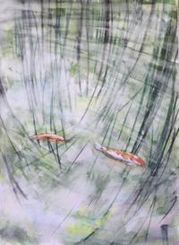 【水彩画】半年ぶりやんか 汗 - ジェンマとおっちゃんの日記2