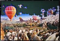 カッパドキア~神秘の奇岩群~:2日目 - ジグソーパズル(世界最小ピース)