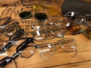 6月19日(水)大阪店アクセサリー入荷!!#3  VintageGlasses編!!B&L&A.O、Willson!! - magnets vintage clothing コダワリがある大人の為に。