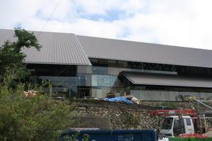 対馬市博物館とナンバーディスプレイ -