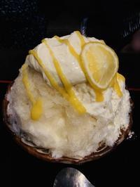 厨菓子くろぎで最強のかき氷をいただく - MotoのNY料理教室ライフ