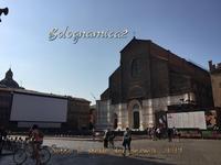 ボローニャ夏の風物詩、星空の下で映画鑑賞 - ボローニャとシチリアのあいだで2