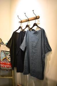 Juillet a Sapporo::Linen Big Tunic&Linen A line One-piece - JUILLET