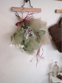 スモークツリーのスワッグ - 森の工房 Flower Work ナチュラルスローな空間