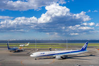 低気圧一過の空 - K's Airplane Photo Life