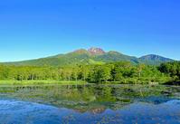逆さ妙高山(いもり池) - くろちゃんの写真