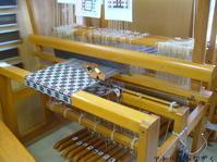 deflected double weave織りはじめ - アトリエひなぎく 手織り日記