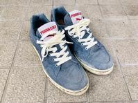 スニーカーの靴紐交換 - 笑わせるなよ泣けるじゃないか2