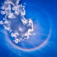2019.6.18虹色の光の輪『ハロ』出現!(国分寺市) - ダイヤモンド△△追っかけ記録