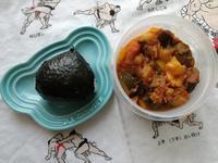6/19(水) ラタトゥイユとおにぎり弁当 - ぬま食堂