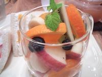 【アフタヌーンティールーム】Be Fruity Day夢のフルーツティーセット【本日限り】 - お散歩アルバム・・秋の徒然