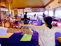 7月のお寺ヨガ in 本昌寺 - 全てはYogaをするために    動くヨガ、歌うヨガ、食べるヨガ