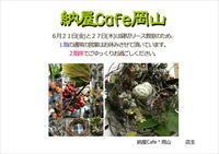 納屋Cafeからのお知らせ「貸切リース教室のお知らせ」編 - ドライフラワーギャラリー⁂ふくことカフェ