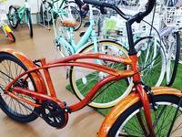 ウッド調のキッズビーチクルーザー - 滝川自転車店