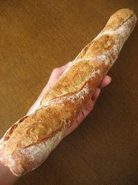 5分仕込みのバゲット - slow life,bread life