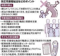 体罰禁止、問われるしつけ虐待から子どもを救うために - SPORTS 憲法  政治