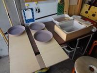 久しぶりのカレーパスタ皿 - 札幌山治 陶芸と日々の雑記