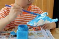 スポンジでパン作り - 大阪府池田市 幼児造形教室「はるいろクレヨンのブログ」