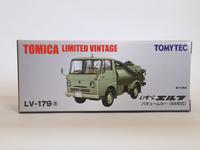 トミーテック・LV-179a エルフバキュームカー(緑)/ LV-180a エルフバキュームカー(白/緑) - 燃やせないごみ研究所