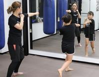 #親子 で楽しく #キックボクシング - キックボクシング&フィットネス  久喜 尚武会  SHOBUKAI Gym