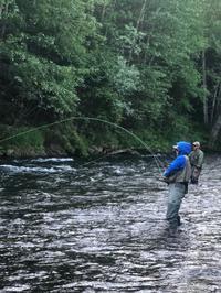 釣りシーズン到来 - アラスカ便り
