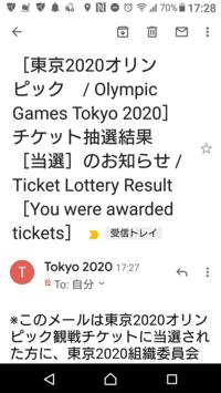 東京オリンピックチケット当選! - 今日も食べようキムチっ子クラブ (料理研究家 結城奈佳の韓国料理教室)