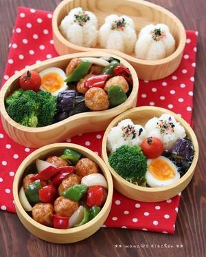 今日のbento d((,,゚¬゚,,))♪ - **  mana's Kitchen **