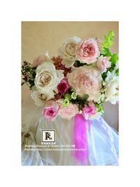 梅雨の晴れ間、フレンチスタイルのブーケと - Bouquets_ryoko