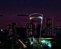 独り遊びの「Photoshop」:街の灯りちらちら - Photocards with love