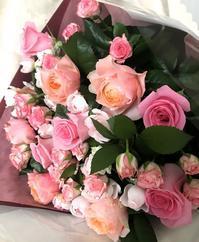 贈った花束 - うろうろ、ごそごそ。