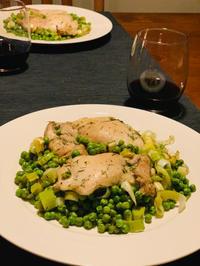 グリンピースと鶏肉のオーブン焼き - bluecheese in Hakuba & NZ:白馬とNZでの暮らし