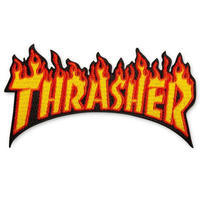 Thrasher Flame Patch - trilogy news