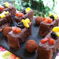 ドライフルーツチョコレートケーキ - 調布の小さな手作りお菓子教室 アトリエタルトタタン