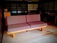 シウリ桜のソファ - woodworks 季の木  日々を愉しむ無垢の家具と小物