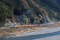 塩郷の吊り橋とトーマスくん- 2017年・大井川鉄道 - - ねこの撮った汽車
