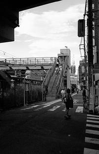 跨線橋 - そぞろ歩きの記憶