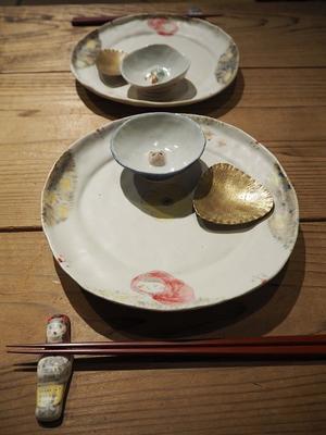 松浦コータロー・ナオコ 陶磁展 6 - うつわshizenブログ
