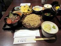【いろはな】天ざる蕎麦と選べる小丼【湘南GATE】 - お散歩アルバム・・春日和バラ日和