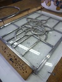 初めてのケイム組みパネル - atelier GLADYS  ステンドグラス工房 作り手の日々