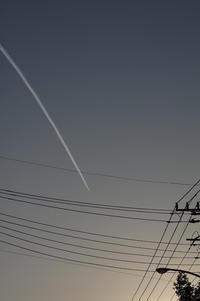 233_飛行機雲2 - デザインスタジオ バオバブのスクラップブック