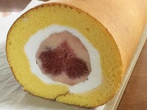 まるごといちじくのロールケーキ - la la la kitchen 2 ♪