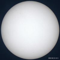 6月23日の太陽 - お手軽天体写真