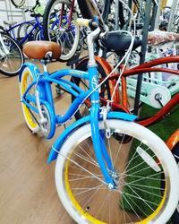 カラフルなキッズビーチクルーザー - 滝川自転車店