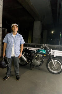 中津原 潤一郎 & YAMAHA TX650(2018.07.19/TOKYO) - 君はバイクに乗るだろう