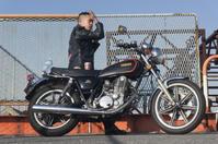 奥田 陸 & YAMAHA SR400SP(2018.12.01/ FUNABASHI) - 君はバイクに乗るだろう