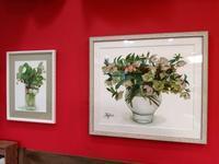 お花の絵を飾りました☆彡 - aile公式ブログ